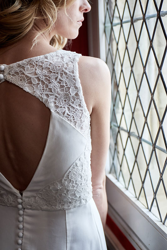 Robe de mariée made in France