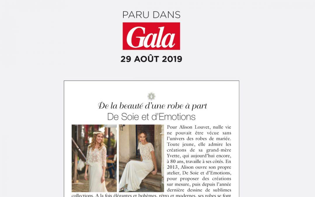 De Soie et d'Emotions dans Gala
